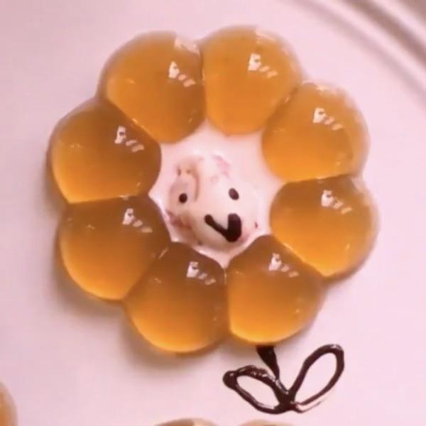 【kitb】涼到心花朵朵開~簡易烏龍茶凍