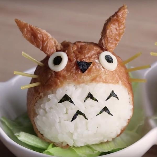 【上田太太】隔壁的豆豆龍跑來我家啦~可愛龍貓飯糰