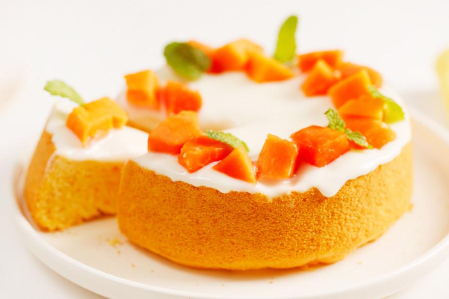 副食品,蛋糕,木瓜牛奶,媽媽寶寶,甜點