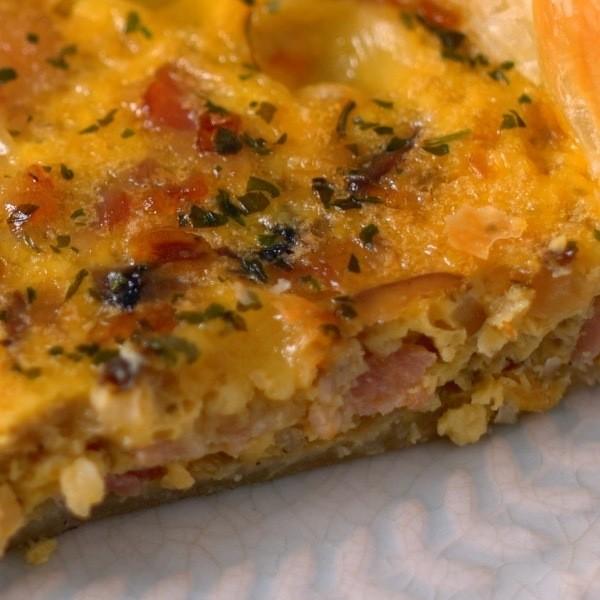 【點Cook Guide】中西美味早餐~起司培根酥皮蛋餅