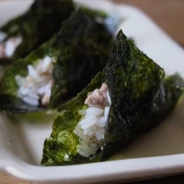 【饗瘦美味】好吃好玩好美味~韓式海苔肉末包飯