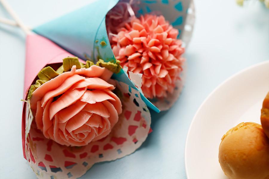 棒棒糖蛋糕,烘焙,親子甜點,烤箱,奶油霜