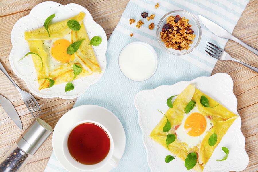 早餐,早午餐,下午茶,可麗餅,平底鍋料理