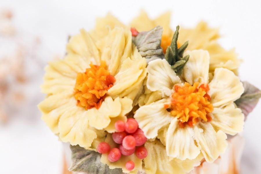 擠花,豆沙,韓式裱花,甜點,手作