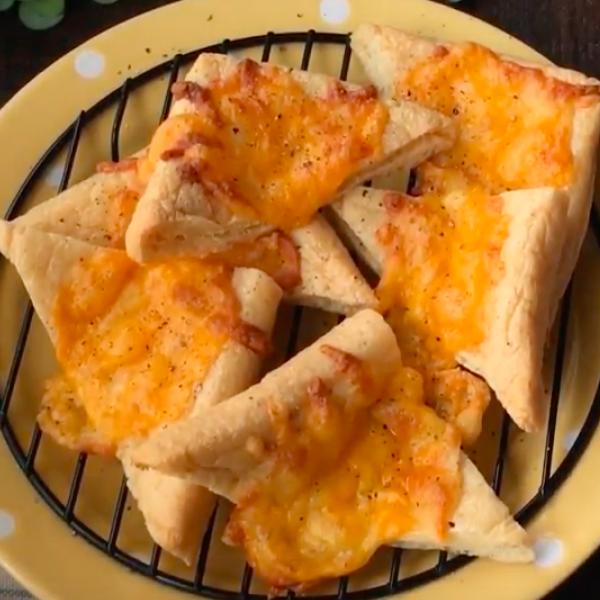 【kitb】三步驟健康零食~脆脆起司豆腐皮
