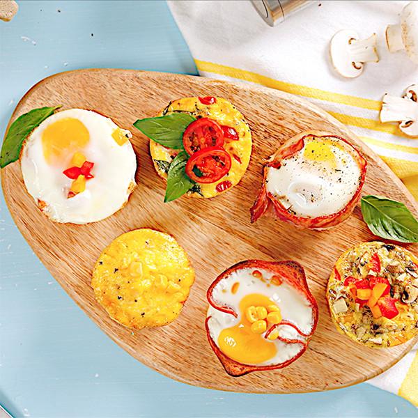 馬芬模也能做超澎湃早午餐~【綜合迷你烘蛋】