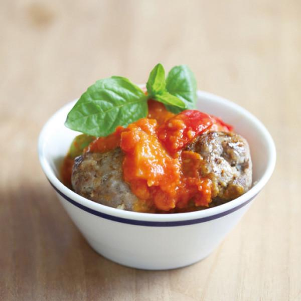 冷凍肉類最佳保存與解凍方法~【番茄醬燒肉丸】
