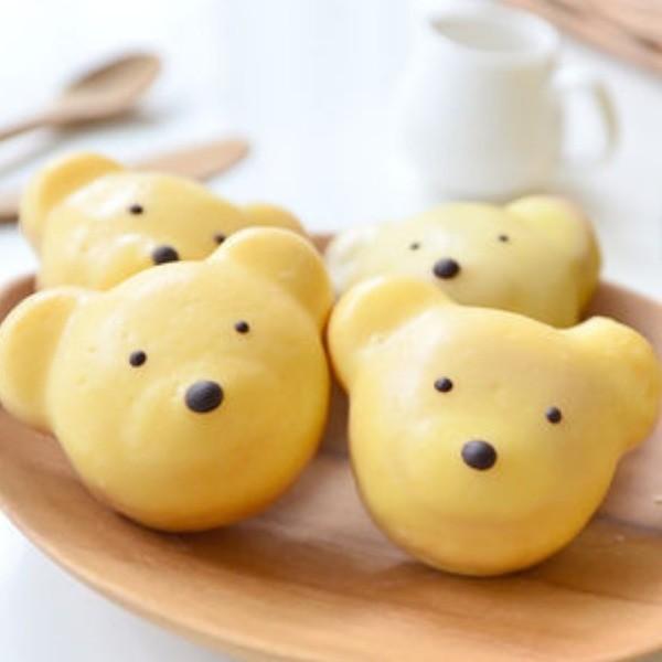 【小樹懶廚房】情人節特輯~小熊造型檸檬蛋糕
