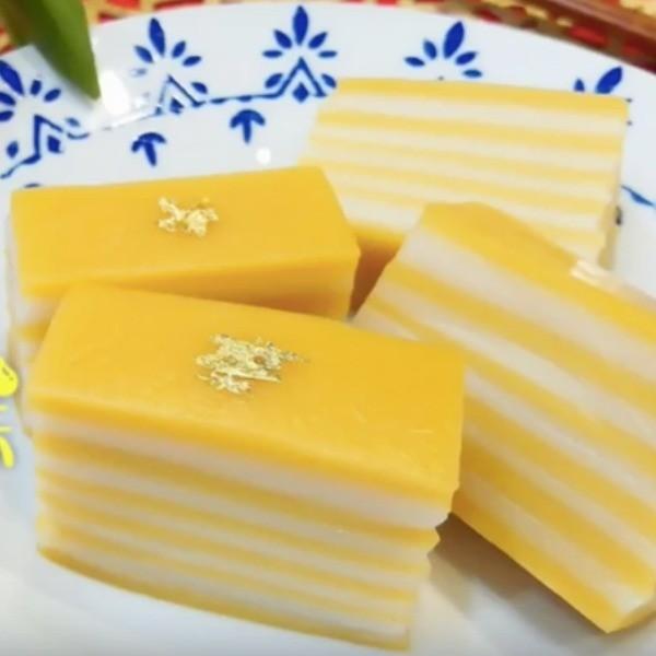 【木瓜廚房】港式點心好好味~奶皇千層糕