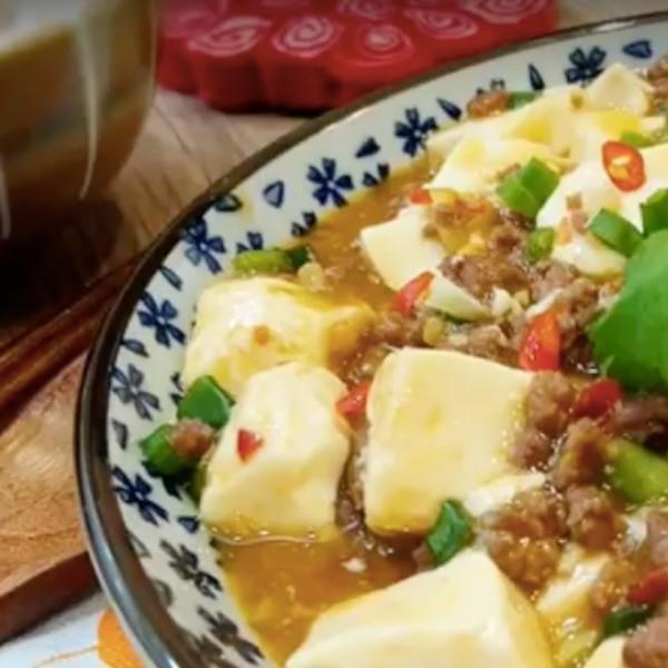 【木瓜廚房】超簡單快手下飯菜~麻婆豆腐
