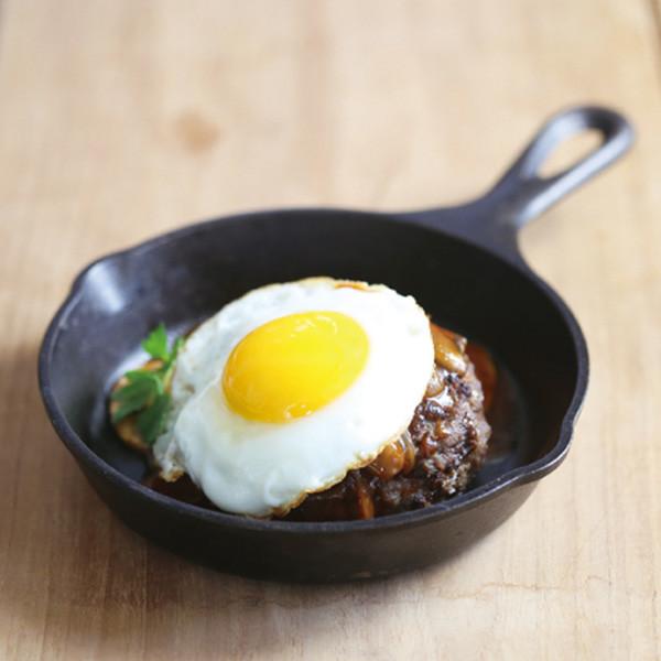 常備蔬菜絞肉半成品做【日式牛肉漢堡排】