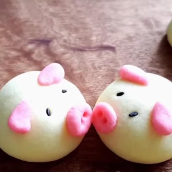 【小黃鴨廚房】2019迎新年~豬豬德國酥餅