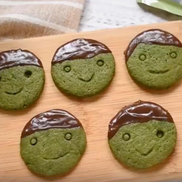 【kitb】笑咪咪~濃厚京都抹茶巧克力餅乾