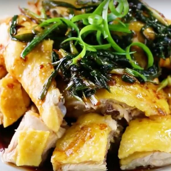 【Honney's Kitchen】經典家常料理~蔥油雞