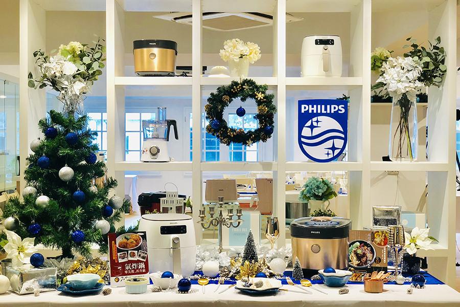 飛利浦,聖誕節,年末,感恩,派對,氣炸鍋,智慧萬用鍋