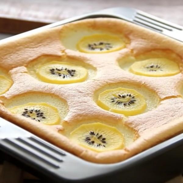 【Apron】酸酸甜甜~奇異果蛋糕