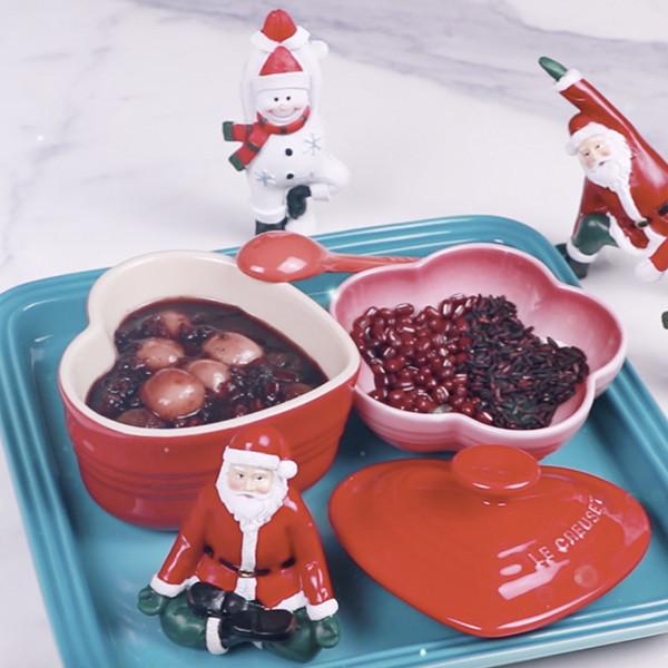 冬至怎麼能沒有湯圓?來碗【桂圓紅豆紫米湯圓】吃甜甜