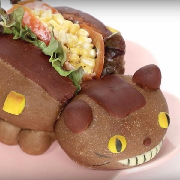 【Two Bites】宮崎駿人氣角色~豆豆龍貓巴士潛艇堡
