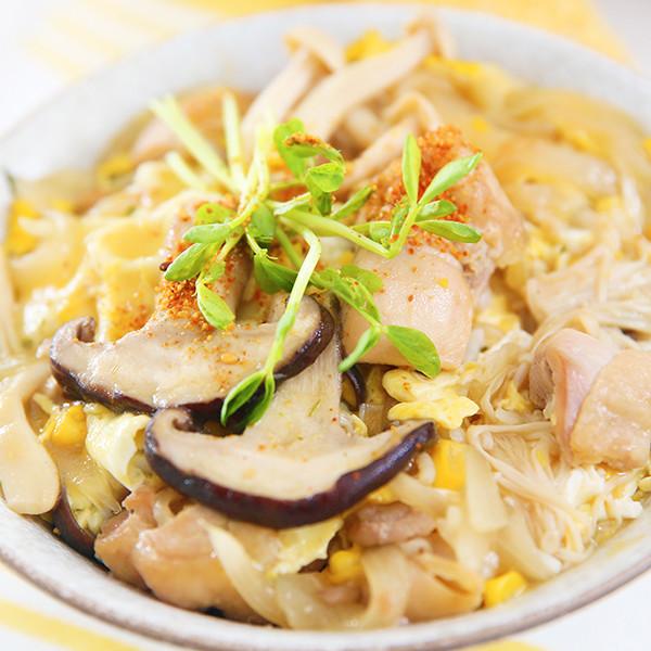 【康寶金黃玉米濃湯】輕鬆變身美味親子丼