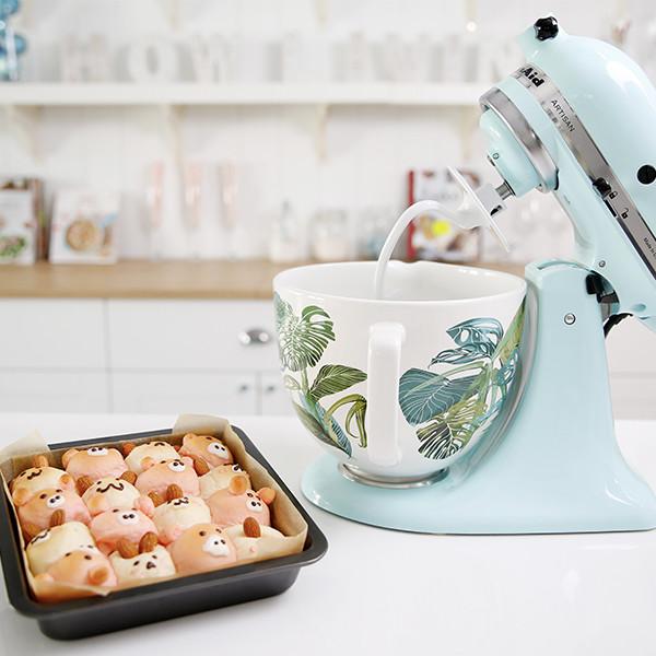 一起來做手撕麵包吧!KitchenAid桌上型攪拌機