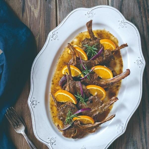 高顏值宴客菜輕鬆做!【橙汁優格燒羊小排】