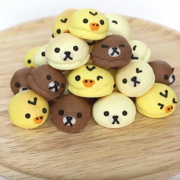 【Two Bites】懶懶熊三色小饅頭
