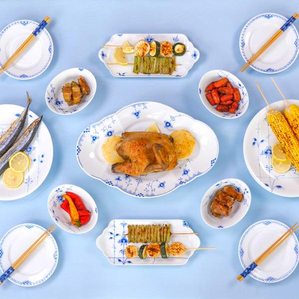 【皇家哥本哈根Royal Copenhagen】餐瓷美學~打造優雅中秋餐桌