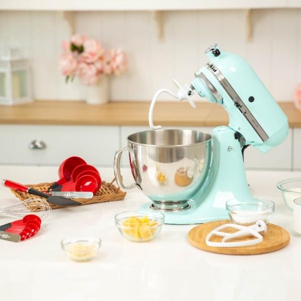 手作經典太陽餅!KitchenAid桌上型攪拌機