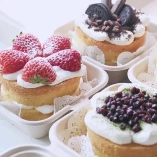 【豆果美食】便當盒蛋糕 烘焙食譜作法