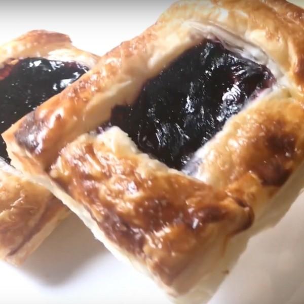 【Linda & Zoey's Kitchen】北歐風早餐~藍莓丹麥酥