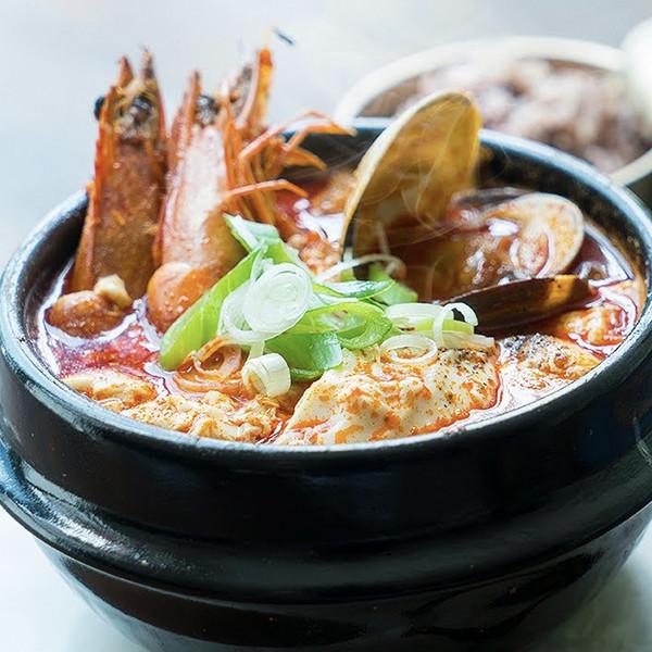 【我的C家廚房!Bon Appétit】韓式辣海鮮軟豆腐湯
