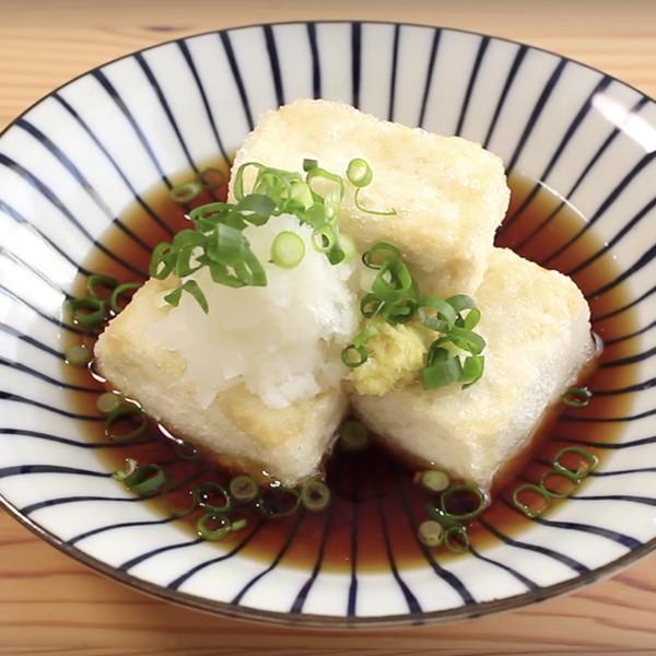 【Yao Lam】 外酥內嫩小心燙口!日式揚出豆腐
