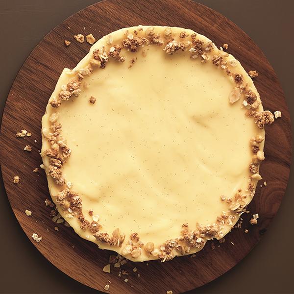 免烤箱平底鍋甜點~用水浴法做【紐約起司蛋糕】