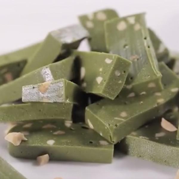 【豆果美食】茶香四溢的抹茶牛軋糖 甜點食譜做法