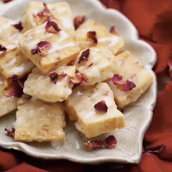 【豆果美食】玫瑰花瓣年糕 甜點食譜做法