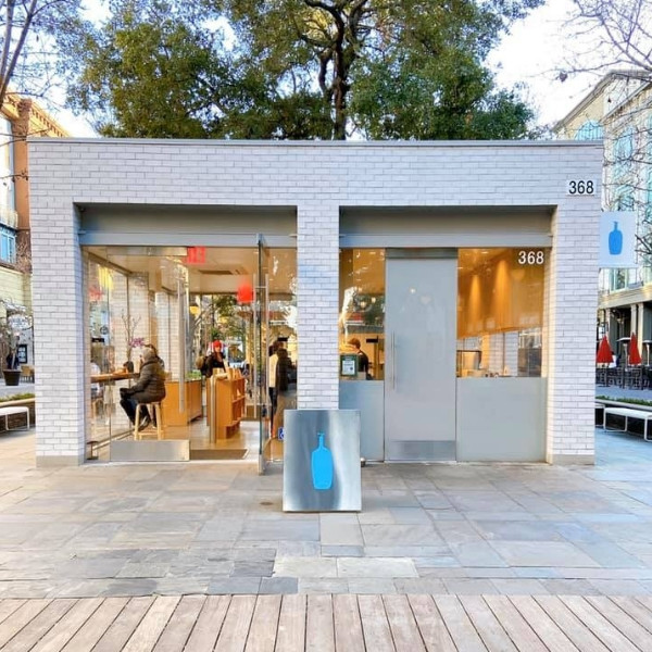 直擊矽谷南灣第一間藍瓶咖啡分店