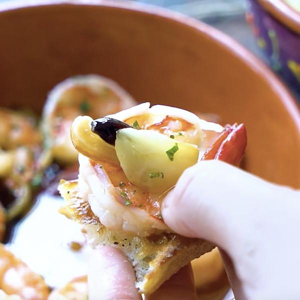 【我的C家廚房!Bon Appétit】西班牙橄欖油蒜味蝦