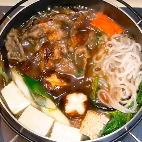 【日本男子的日式家庭料理】清冰箱料理,日式正統壽喜燒作法