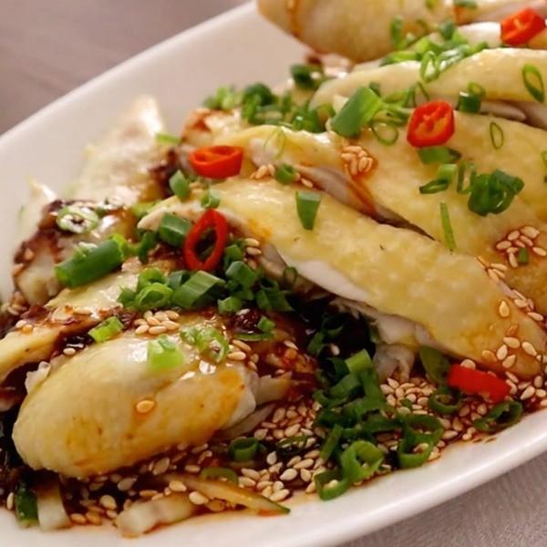 【木瓜廚房】保證沒有雞腥味~煮出多汁鮮嫩「麻辣口水雞」