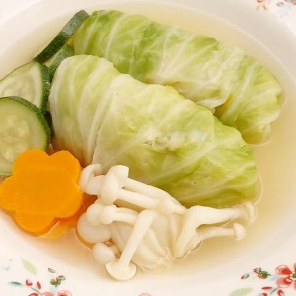【Eli的生活記事】低卡清爽美味~日式高麗菜捲