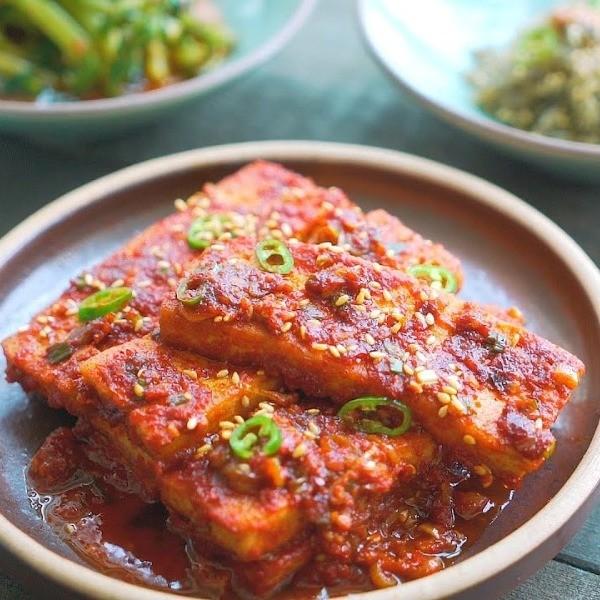 【我的C家廚房】超下飯歐巴家常味~韓式醬燒豆腐