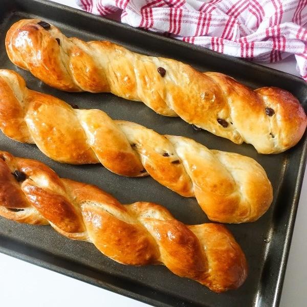 【Mrs P's Kitchen】經典麵包這樣做~葡萄乾丹麥麵包