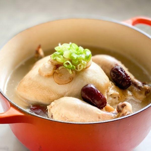 秋冬防疫養生湯品 韓式花旗參雞湯 流感肺炎病毒不要來 | 太子牌花旗參