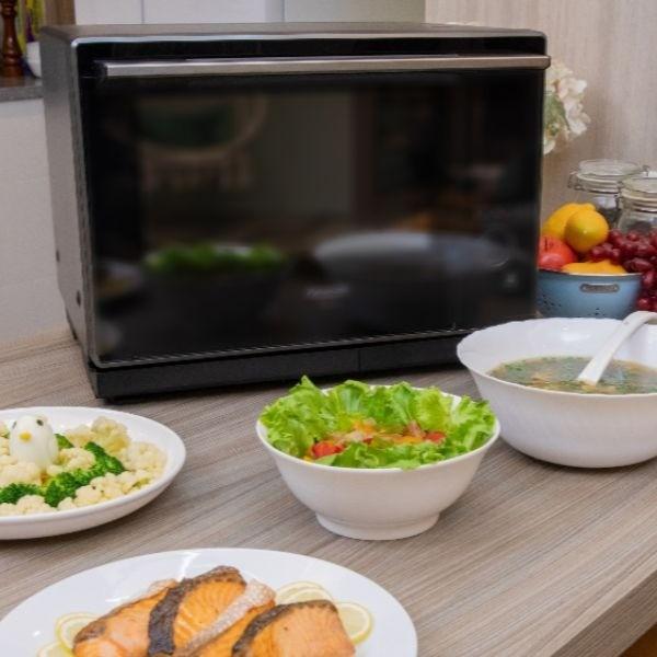 30分鐘搞定晚餐!Panasonic 蒸烘烤微波爐 幸福上菜