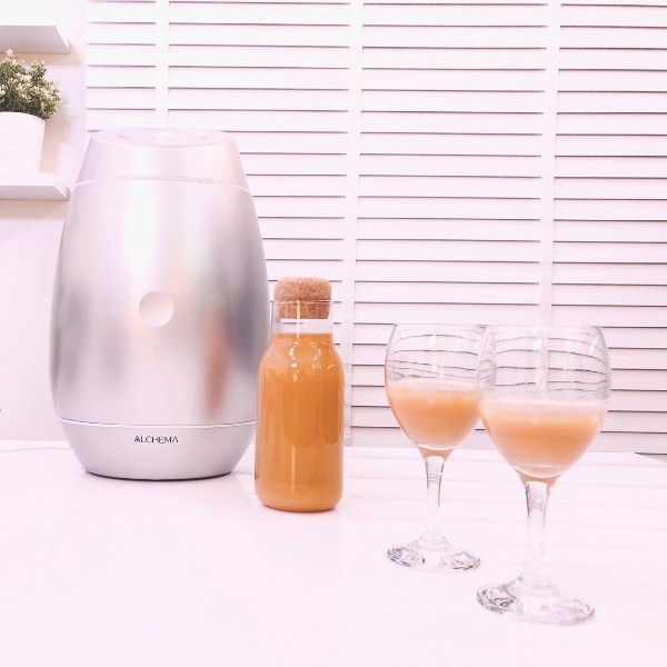 【ALCHEMA 美味蘋果酒】用科技智慧釀好酒,只要 7 天就完成 | 美味生活開箱實測心得