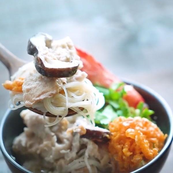 【我的C家廚房】挑戰最強巷口美食~古早味芋頭排骨米粉