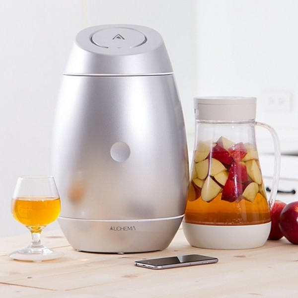 【智慧釀酒機 | ALCHEMA 讓新手也能變身釀酒師】精釀啤酒、水果酒、大吟釀、 百種酒類自己釀