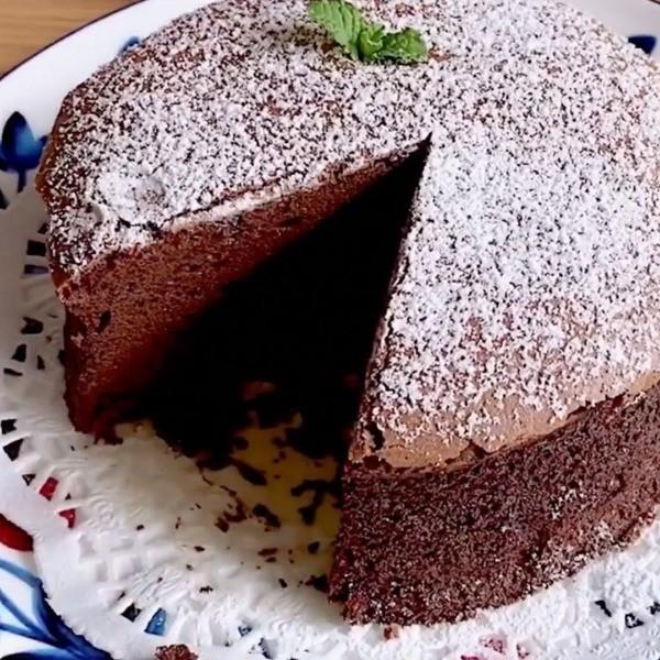 【波波小姐的廚房】不甜不膩恰到好處~古典巧克力蛋糕