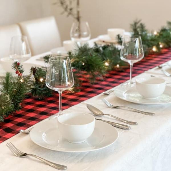 【打造完美聖誕大餐的秘訣】Part 3. 餐桌裝飾技巧
