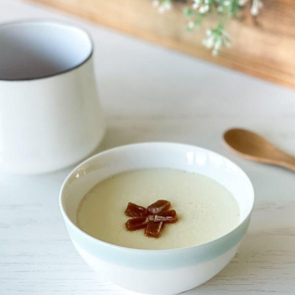 #流心姜糖燉奶 【 超簡單薑汁燉奶的秘訣! 比外面賣的還好吃 】